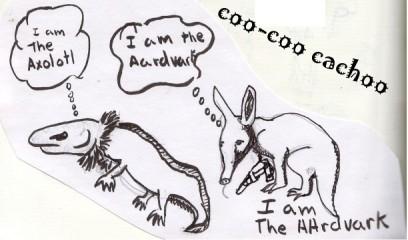 I am the Aardvark