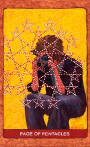 Image result for page of pentacles tarot st. croix