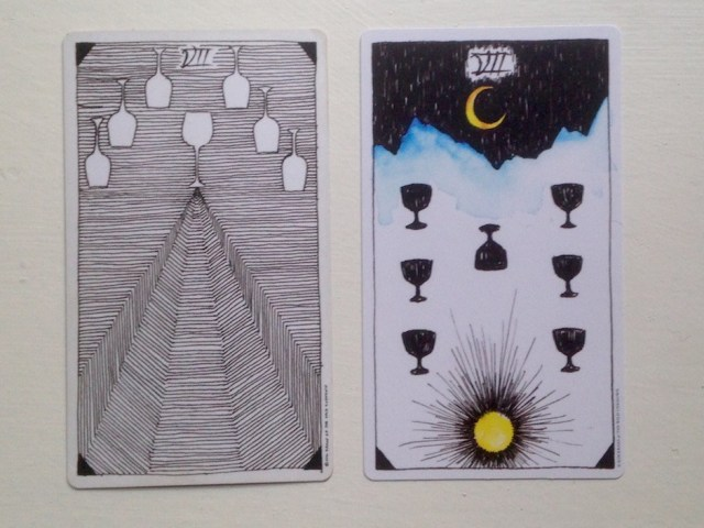 Image result for the wild unknown tarot 7 of cups