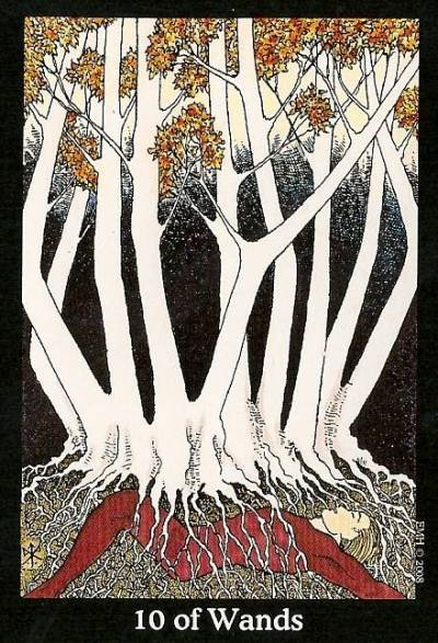 Image result for 10 of wands