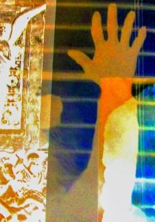arm hand shadow
